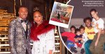 Insta :  Le fils de Marjorie Harvey, Jason, partage une vidéo amusante de sa femme enceinte Amanda et de leur fils
