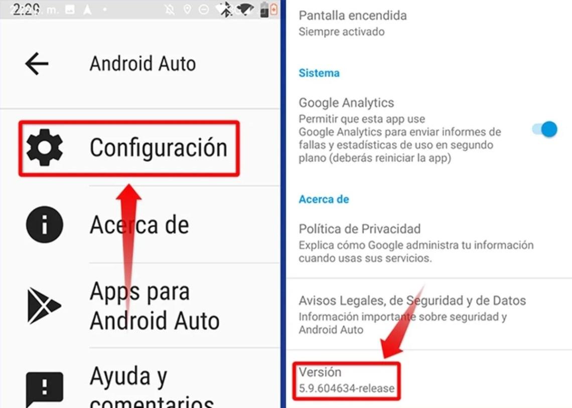 asi puedes activar el modo desarrollador en Android Auto