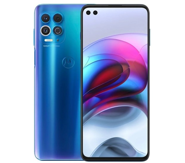 Motorola Edge S azul