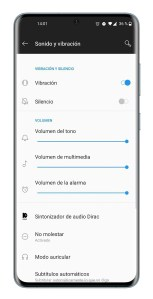 Sonido y vibración en Android