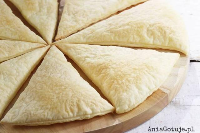 Пицца из сладкого слоеного теста, 1