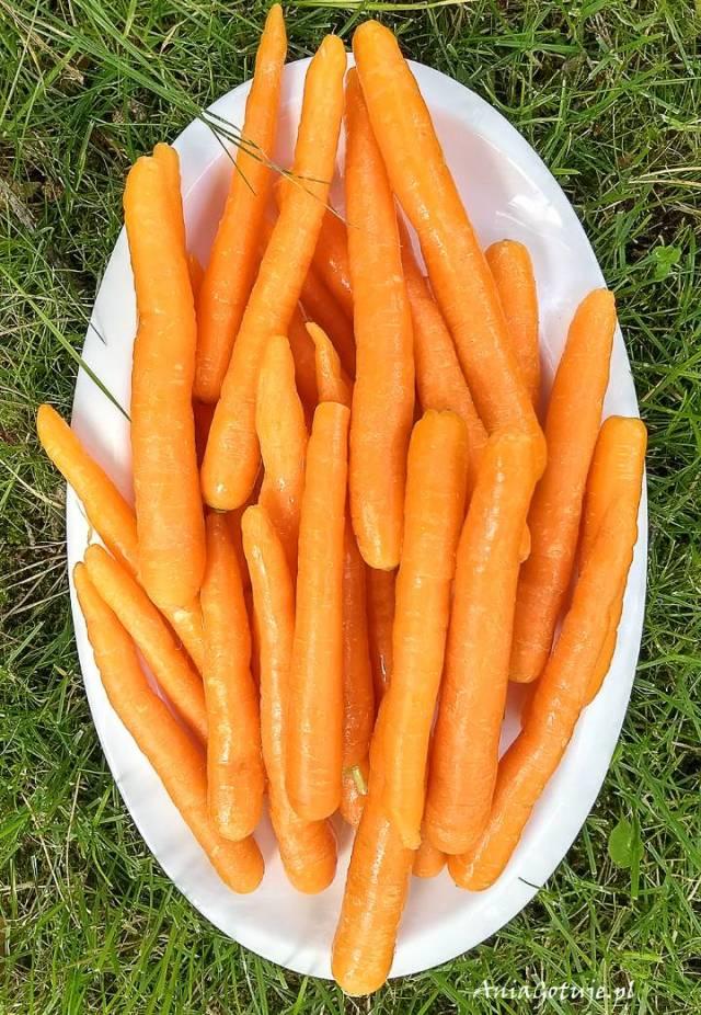 Жареная морковь, 2 шт.