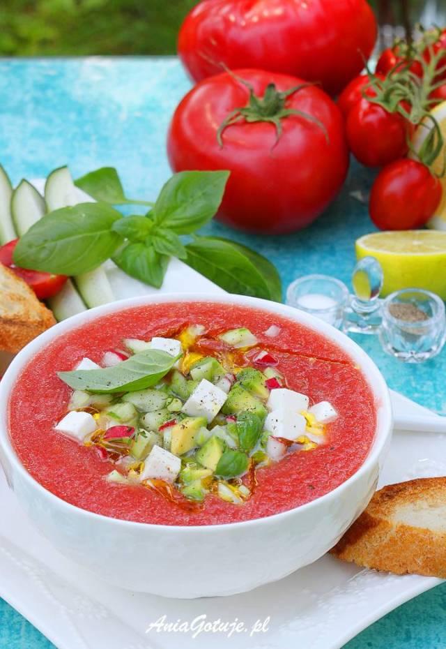 Томатный холодный суп, 1 шт.