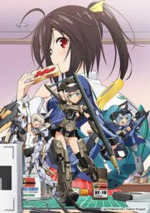 Frame Arms Girl Anime Visual