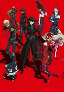 Persona 5 The Animation Cour 2 Key Visual