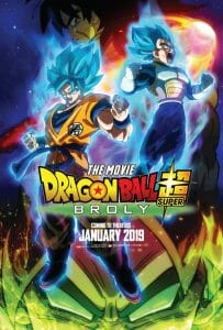 Dragon Ball Super: Broly English Key Visual