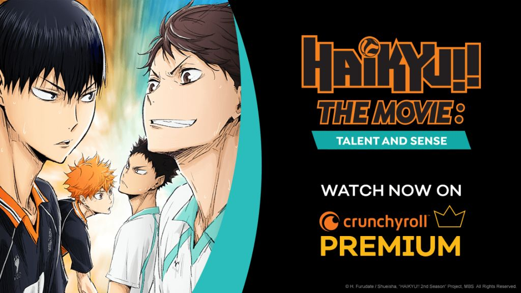 Haikyu The Movie Talent and Sense Horizontal Visual