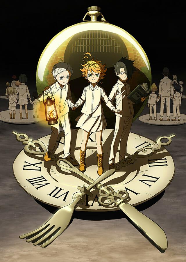 Promised Neverland Anime Visual