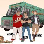 Okamoto Kitchen Character Visual - Diabolicos