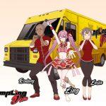 Okamoto Kitchen Character Visual - Dumpling Diva