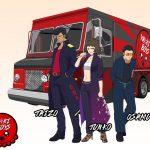 Okamoto Kitchen Character Visual - Yaki Boys