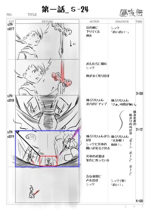 Production Art - Storyboard