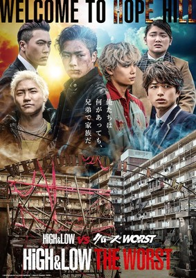 Crow Zero High Low End Sky 2018 : HiGH&LOW, Worst', Crossover, Live-Action, Sequel, Anime, Network