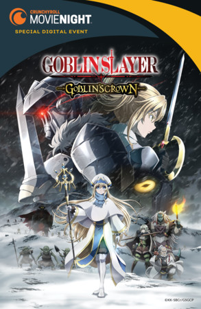 Crunchyroll Set to Release Goblin Slayer: Goblin's Crown Theatrical Anime on July 28