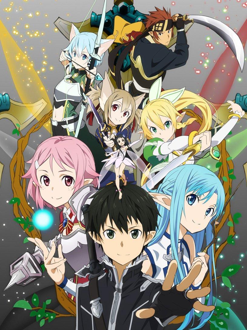 Sword Art Online 2 Aincrad : sword, online, aincrad, English, Sword, Online, Added, Netflix, Anime