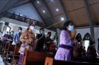 Ibadah jumat agung di Bali