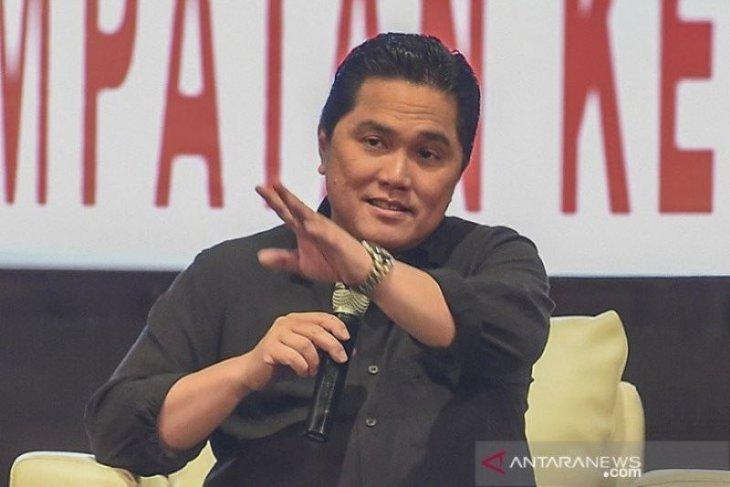 Erick Thohir pastikan pembubaran tujuh BUMN pada 2021