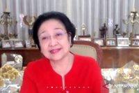 Megawati resmikan patung Bung Karno di Lemhannas