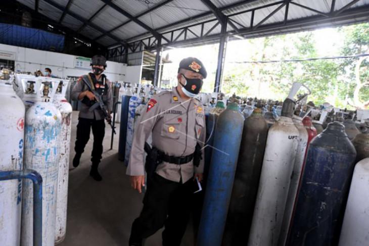 Polisi awasi distribusi oksigen – ANTARA News Bali