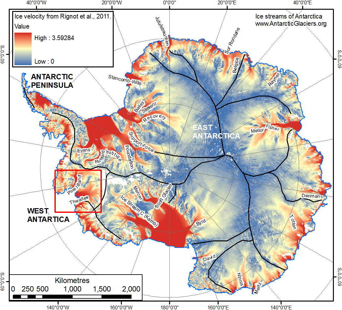 Image result for west antarctic ice sheet melting