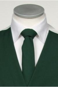 Ascot bottle green Grooms wedding tie - Anthony Formal Wear