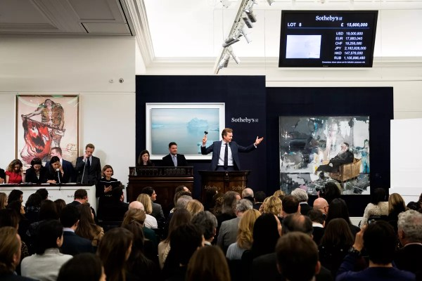 Currency Weakness Helps London Auction Fortnight Record