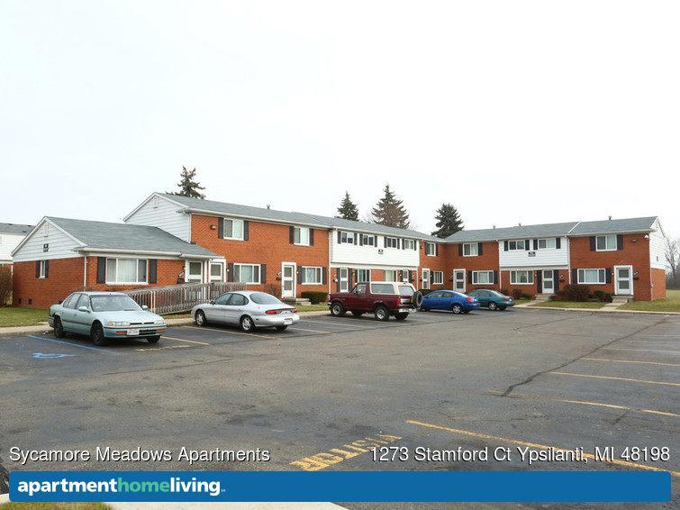 Sycamore Meadows Apartments  Ypsilanti MI Apartments For