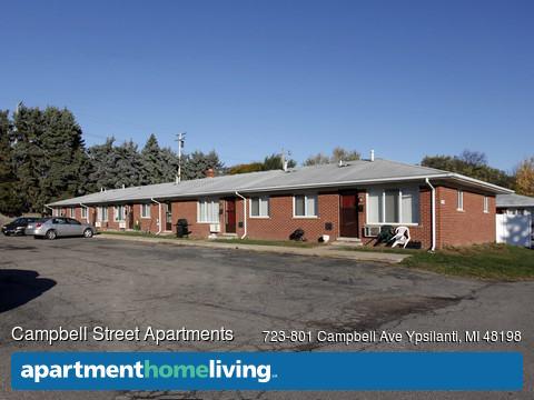 Campbell Street Apartments  Ypsilanti MI Apartments For Rent