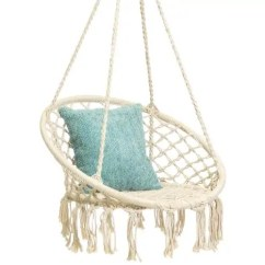 Hanging Chair Swing Patio Cushion Clearance The Best Chairs Apartment Therapy Low Walmart Indoor Outdoor Macrame