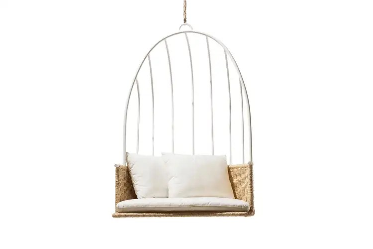 hanging chair swing rattan the best chairs apartment therapy industry west