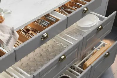 kitchen drawer shelving the 10 most organized drawers on internet kitchn