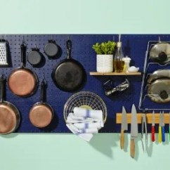 Kitchen Pegboard Moen Bronze Faucet How To Build And Hang A Kitchn For The