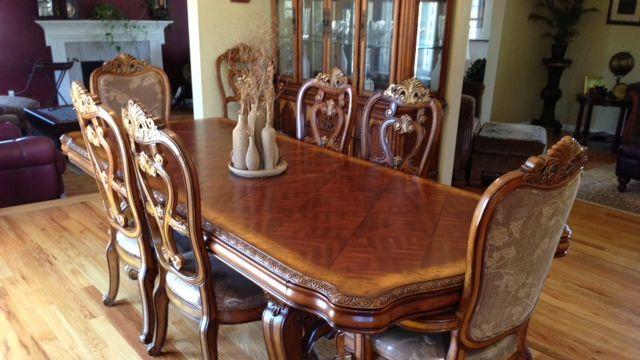 Huffman Koos 10 Piece Dining Room Set Apartment Therapy S Bazaar