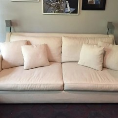 Crate And Barrel Verano Sofa Sofas For Less Grantham Canvas Apartment Therapy S Bazaar