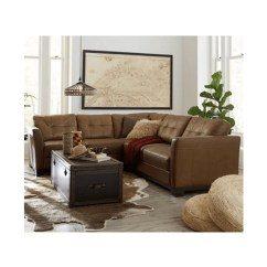 Martino Leather Chaise Sectional Sofa 2 Piece Apartment And Beds Cheapest Macy S Therapy Bazaar