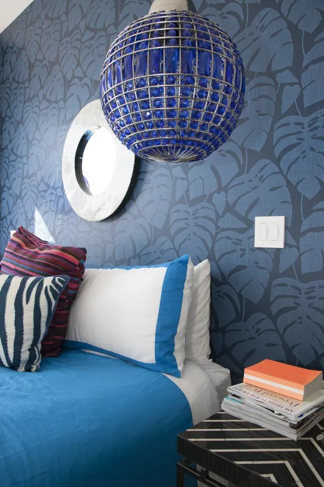 House Tour A Bold Colorful Amp Patterned Cali House