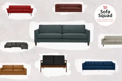room and board sofa sleeper grey velvet fabric for the most comfortable sofas at apartment therapy