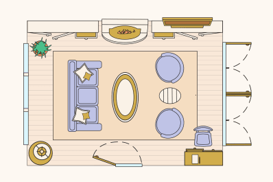 10 Ways To Lay Out A Living Room Sample Floorplans