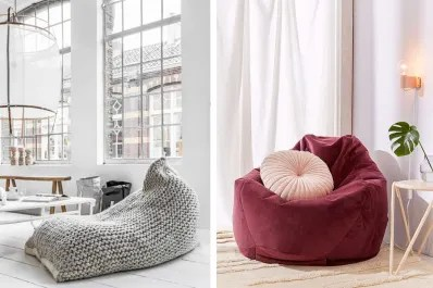 bing bag chairs repair lawn chair vinyl straps believe it or not 10 surprisingly stylish beanbag apartment therapy