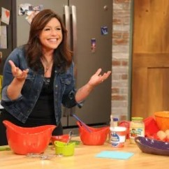 Rachael Ray Kitchen Hand Painted Backsplash Tiles 30 Minute Meal Cooking Lesson Kitchn