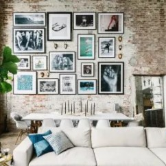 Living Room Picture Wall How Much To Carpet A Gallery Ideas Creative Walls Apartment Therapy