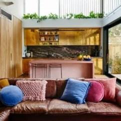 Gold Kitchen Cream Cabinet Ideas Metallic Cabinets Island Trend Apartment Therapy