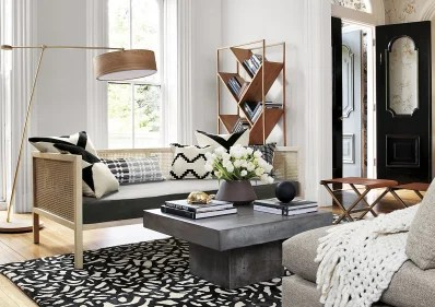 living room pouf lighting fixtures for small space solution the best stools amp poufs apartment therapy