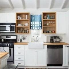Kitchen Organizer Granite Countertops Cost Cabinet Shelf Copper Kitchn Image Credit Jessica Isaac