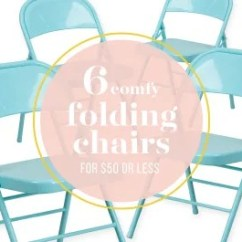 Folding Chair For Less Dining Room Accent Chairs 6 Budget Friendly Kitchn Image Credit Susanna Hopler