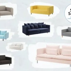 Most Comfortable Ikea Sofa Sleeper Cheap The Best Sofas Apartment Therapy