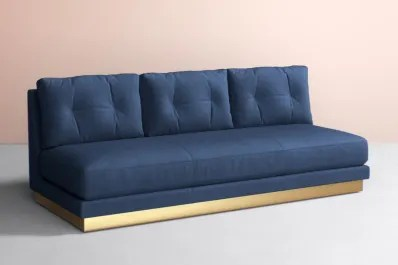color sofa sectional cover 9 blue sofas you ll love apartment therapy