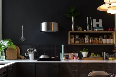 best kitchen cabinets wood and glass the black paint for apartment therapy