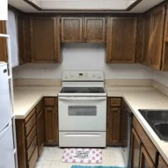 Kitchen Remodel Budget Microwave Cart Diy Before After Photos Apartment Therapy