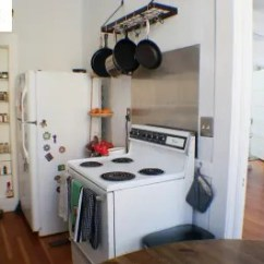 Kitchen Rental Tables With Benches Before After A Mini Wall Makeover Apartment Therapy
